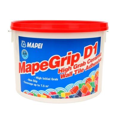 Mapei Mapegrip D1 High Grab Ceramic Wall Tile Adhesive 15Kg