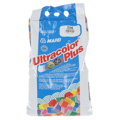 Mapei Ultracolor Plus 5Kg Fast Set Water Repellent Tile Grout
