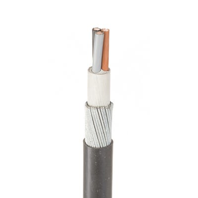10mm 3 Core Armoured Cable Per Metre SWA XLPE