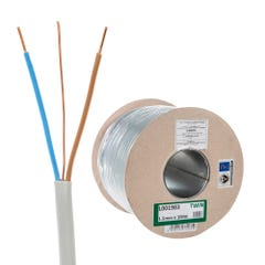 1.5mm Twin and Earth Cable 100m Drum 6242Y