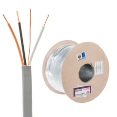 1.5mm 3 Core and Earth Cable 100m Drum 6243Y