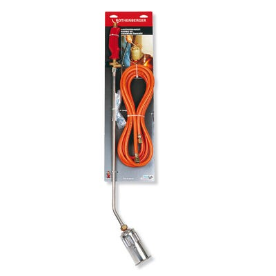 Rothenberger Roofing Maxi Propane Torch Kit Includes Hose 5m