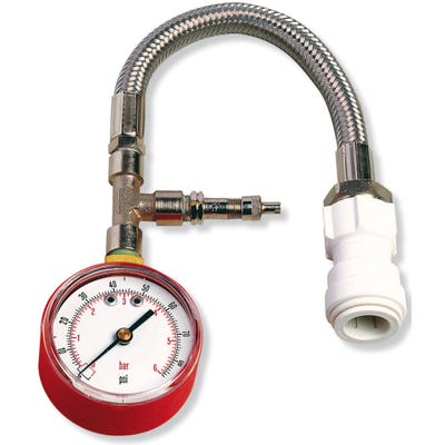 Rothenberger Dry Pressure Test Kit 0-4 Bar