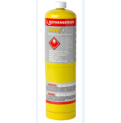 Rothenberger Mapp / Pro Gas Cylinder 400g