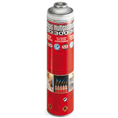 Rothenberger Multigas 300 Cylinder 600ml