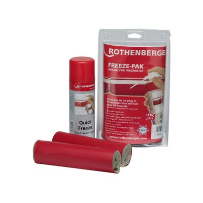 Rothenberger Pipe Freezing Kit