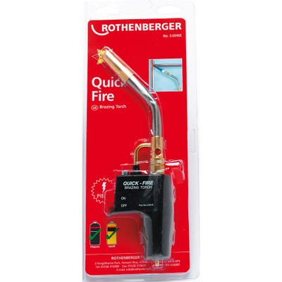 Rothenberger Quick Fire Torch