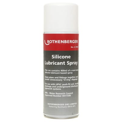 Rothenberger Silicone Lubricant Spray 400ml
