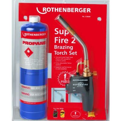 Rothenberger Super Fire 2 Torch & Propane