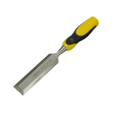 Stanley Dynagrip Chisel With Strike Cap 12mm