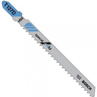 Bosch 100mm Jigsaw Blades special for Aluminium Pack of 5 T127D