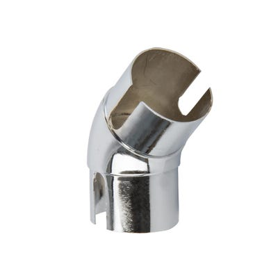 135° Handrail Elbow Polished Chrome