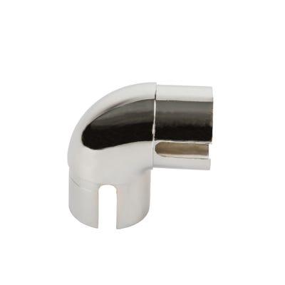 90° Handrail Elbow Polished Chrome