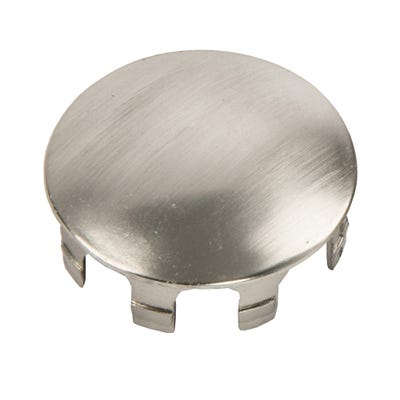 Shallow End Wall Caps Brushed Nickel