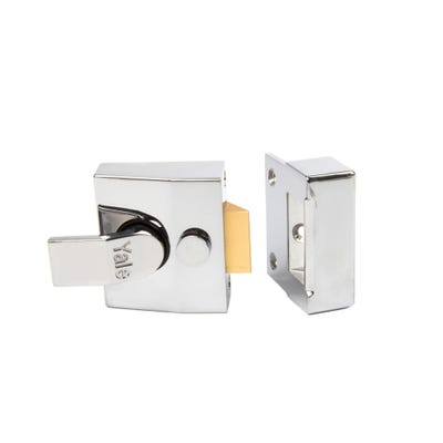 Yale Standard Nightlatch 40mm Polished Chrome