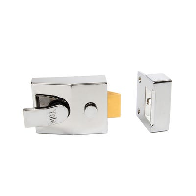 Yale Standard Nightlatch 60mm Polished Chrome