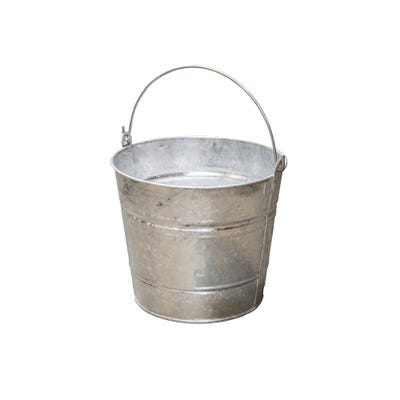 Galvanised Plain Bucket