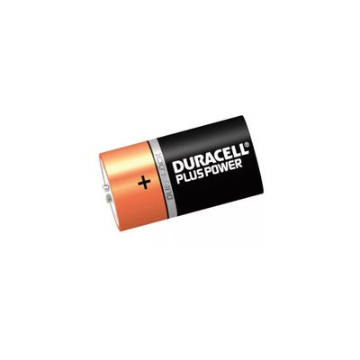 Duracell D Cell Alkaline Batteries - Pack of 2
