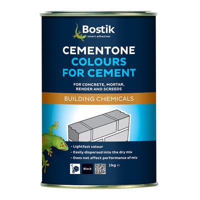 Bostik Cementone Cement Colourant Black 1kg