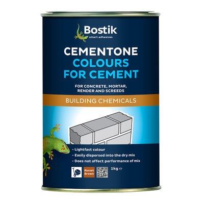Bostik Cementone Cement Colourant Brick Red 1kg