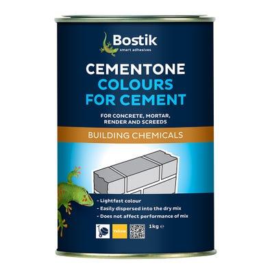 Bostik Cementone Cement Colourant Yellow 1kg