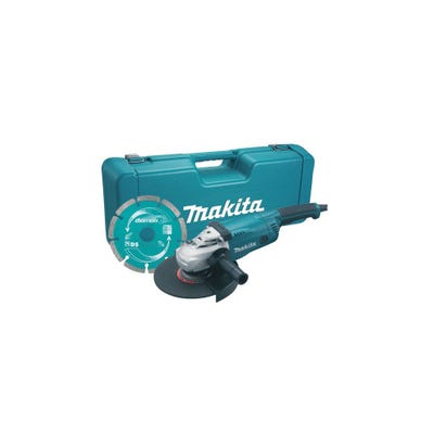 Makita 230mm Angle Grinder 110V & Diamond Blade GA9020KD/1