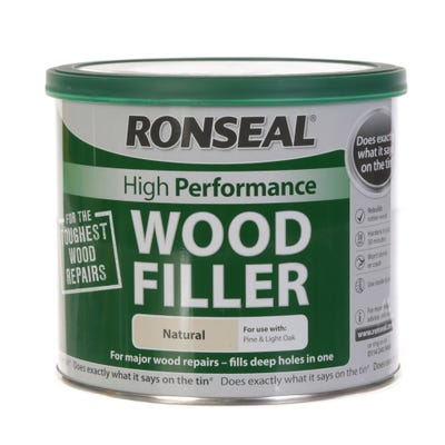 Ronseal High Performance Wood Filler Natural