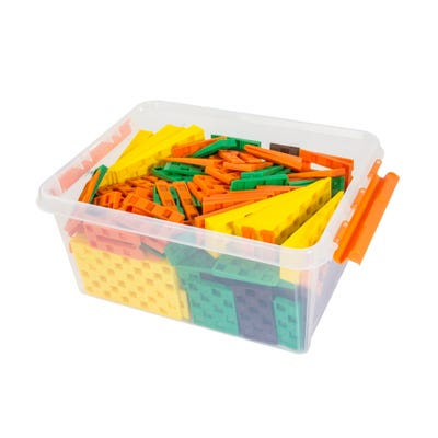 Transpaks assorted Wedges with plastic storage box