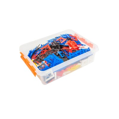 Transpaks assorted Packing hangers with plastic storage box