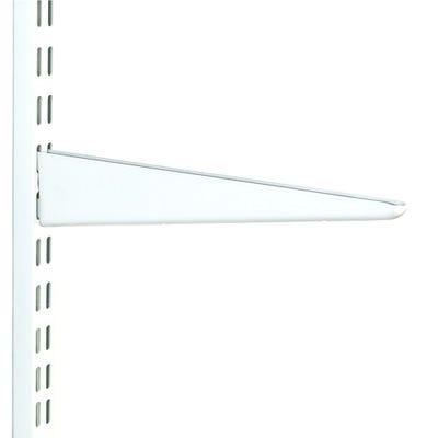 Twin Slot Shelf Bracket 170mm White