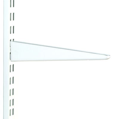 Twin Slot Shelf Bracket 220mm White