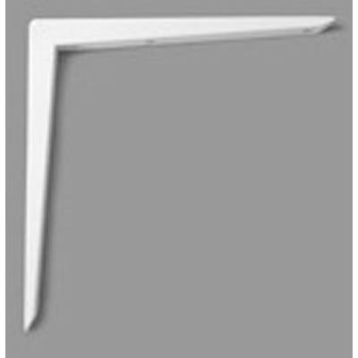 Reinforced Shelf Bracket 300mm x 300mm White