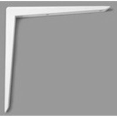 Reinforced Shelf Bracket 350mm x 350mm White
