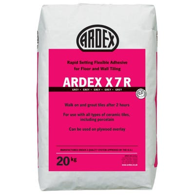 Ardex X7R Grey Rapid Set Tile Adhesive 20Kg