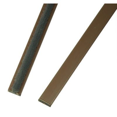 Intumescent Fire & Smoke Seal 10mm x 4mm x 2.1m Brown