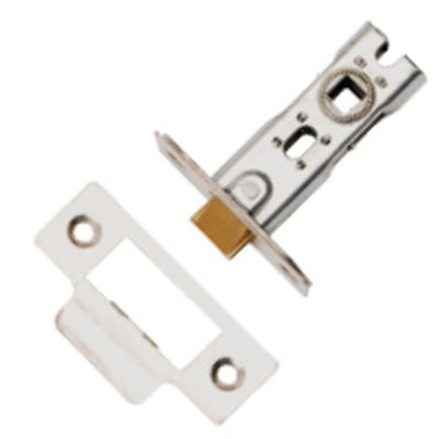 Dale 76mm Tubular Mortice Latch Satin Nickel