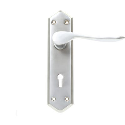 Dale Calver Door Handle in Satin Nickel