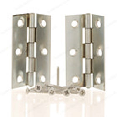 Loose Pin Butt Hinge 76mm Plain Steel