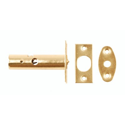Mortice Door Bolt Polished Brass