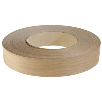 50mm American White Oak Iron On Edging Tape 50m