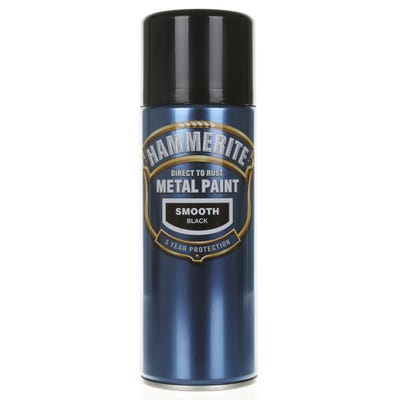 Hammerite Direct To Rust Metal Spray Paint Smooth 400ml