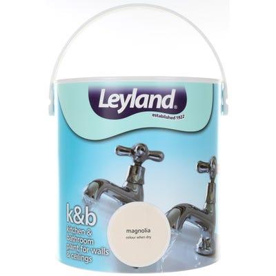 Leyland Kitchen & Bathroom Paint Magnolia 2.5L