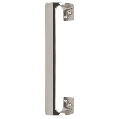 Offset Pull Door Handle 229mm Polished Chrome