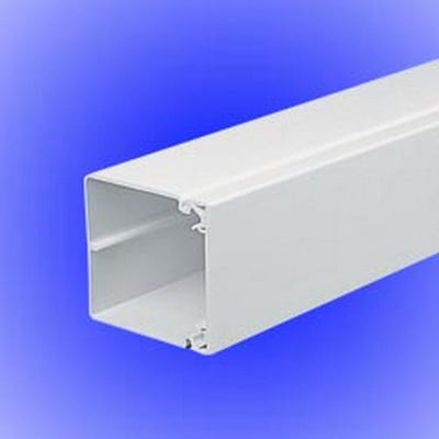 Maxi Trunking White 75mm x 75mm x 3m