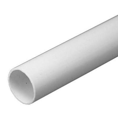 PVC Conduit Heavy Gauge White 25mm x 3m