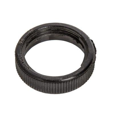 Conduit Locking Ring Black 20mm
