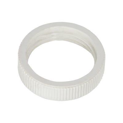 Conduit Locking Ring White 20mm