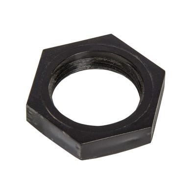 Conduit Locknut Black 20mm