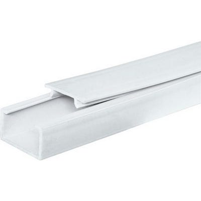 Mini Trunking Self Adhesive White 16mm x 40mm x 3m