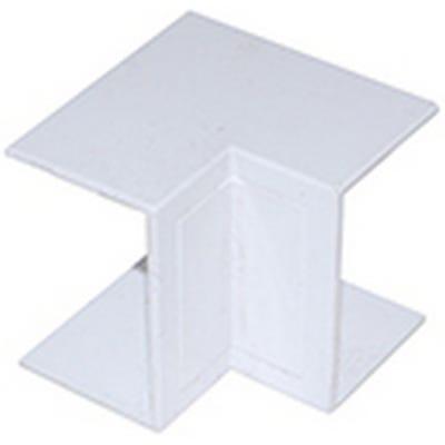 Mini Trunking Internal Angle White 16mm x 16mm